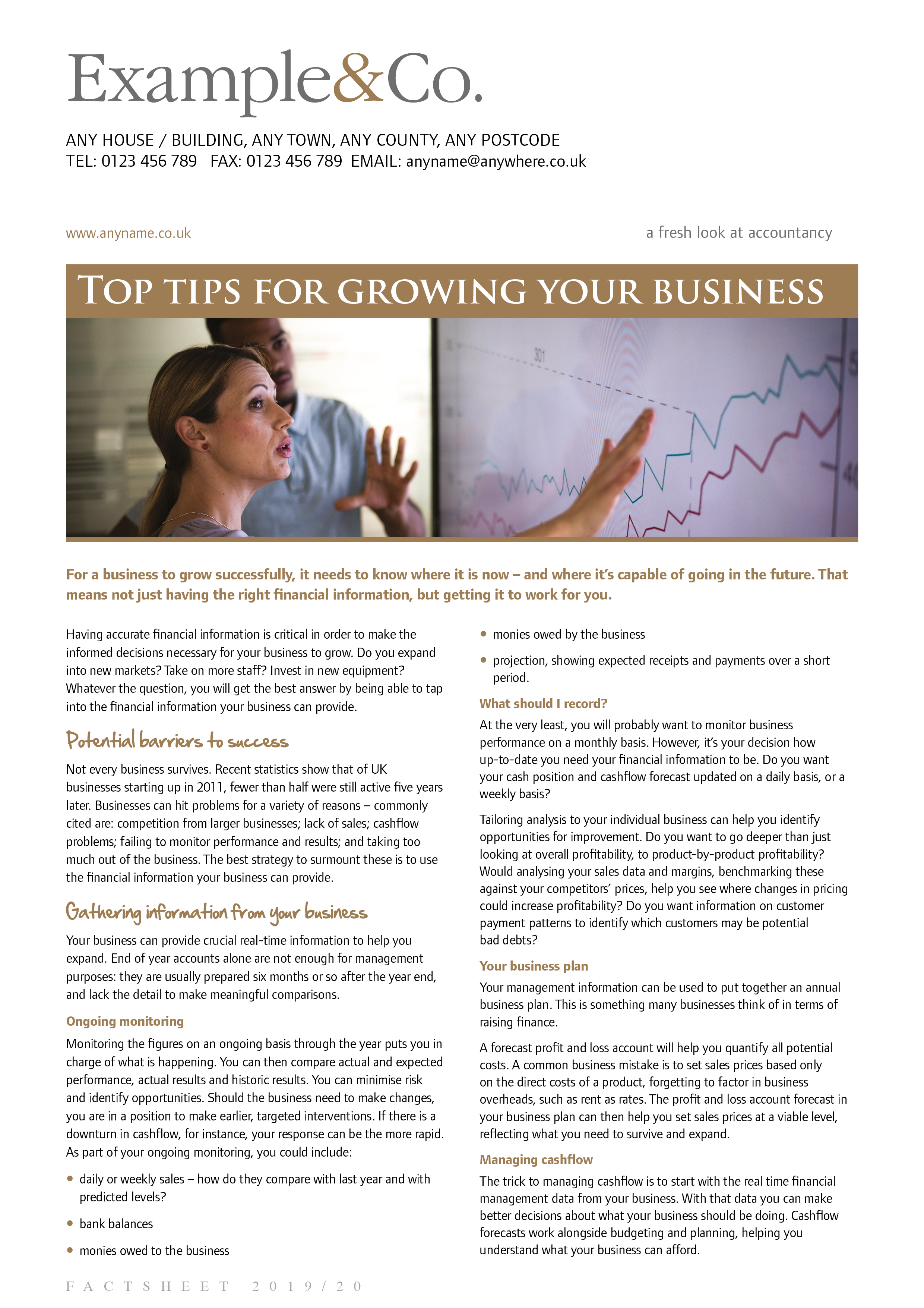Top tips for growing your business