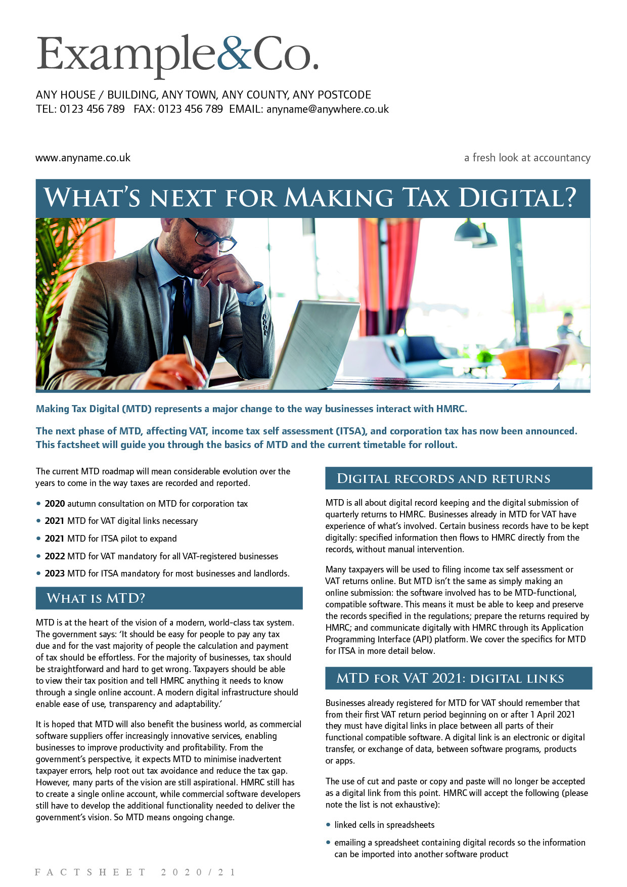 What's next for Making Tax Digital?
