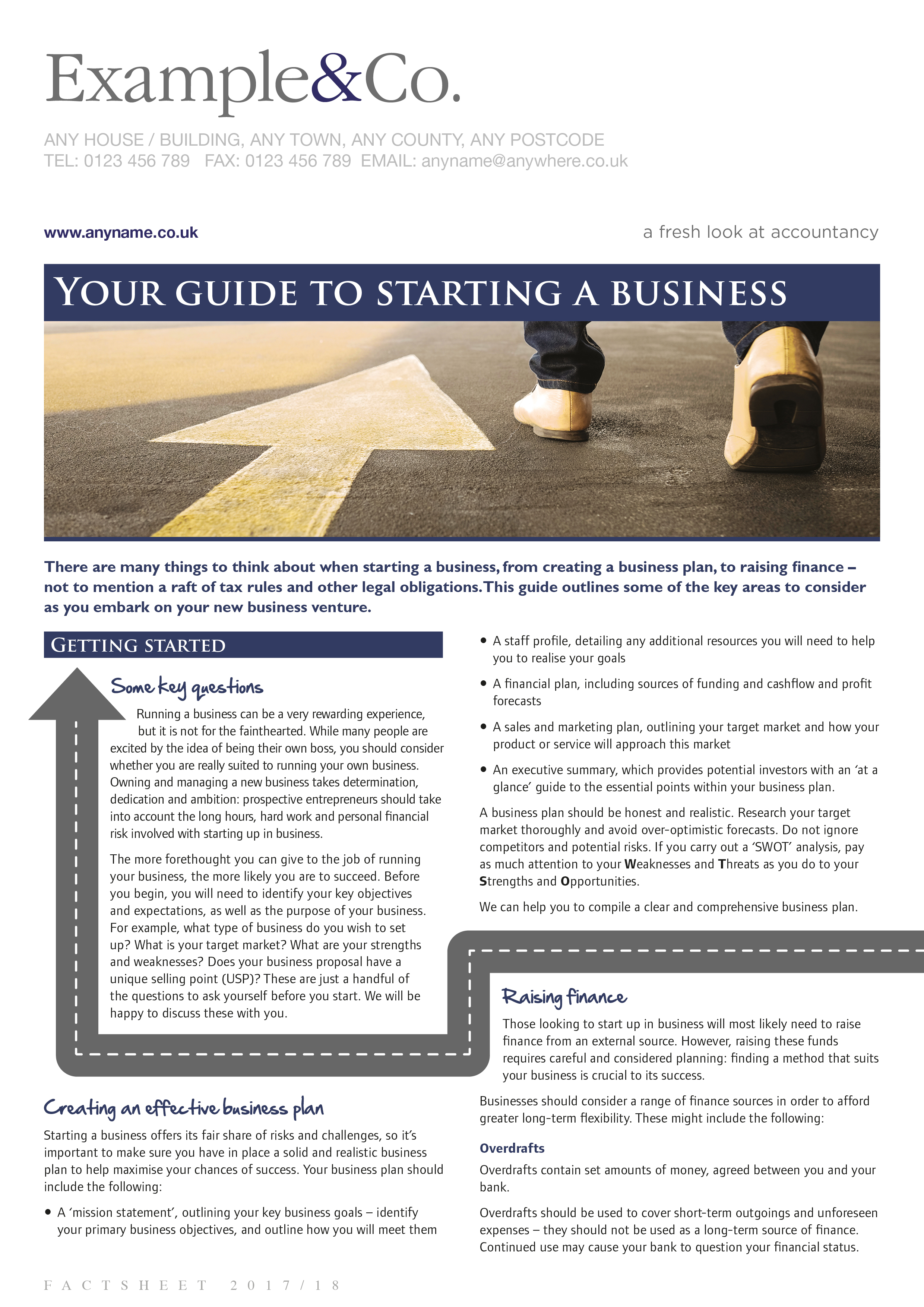 Your guide to starting a business